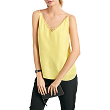 Buy hush Albany Cami Top, Custard Online at johnlewis.com