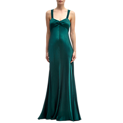 Ghost Bea Dress, Emerald Sea