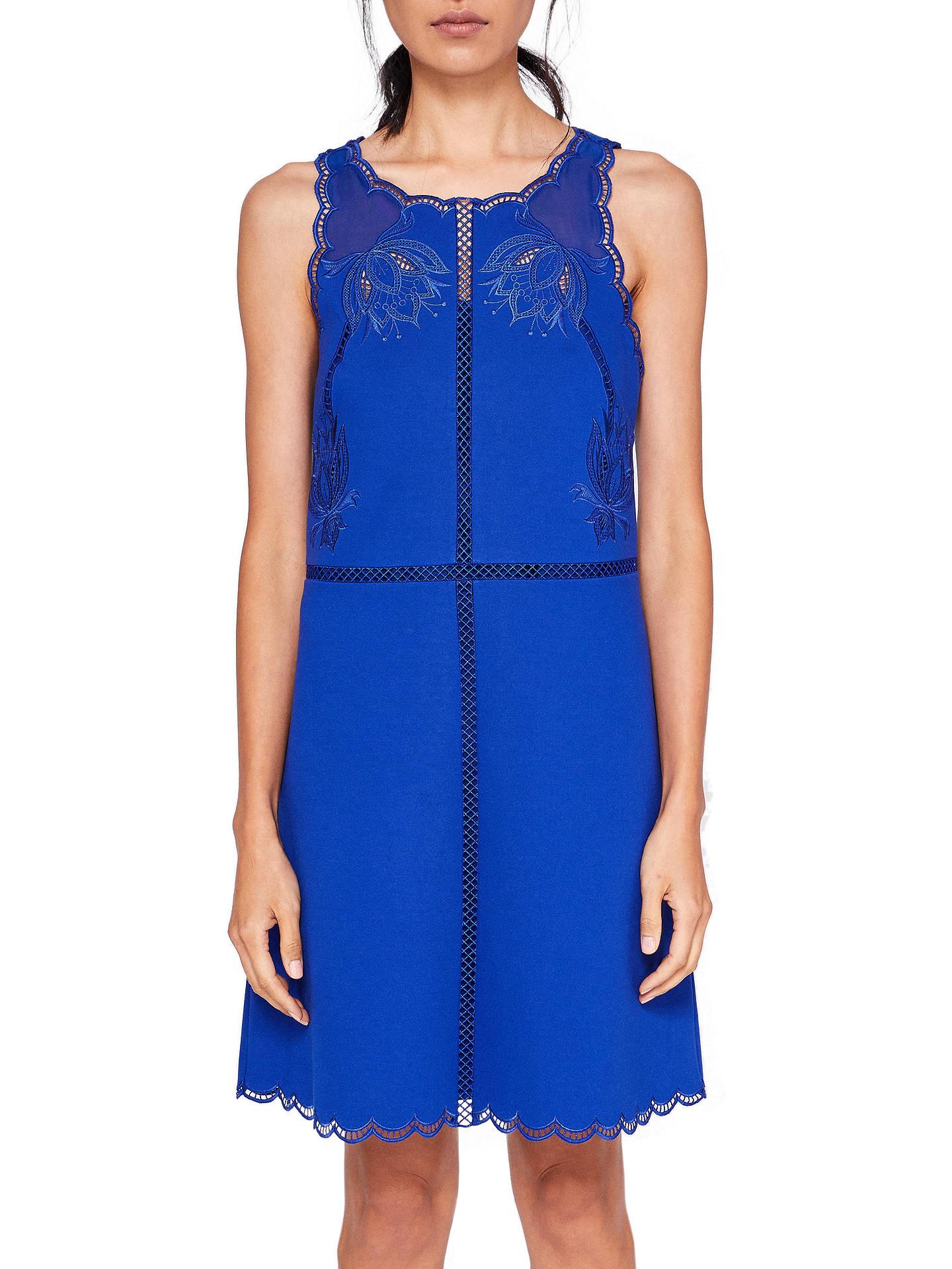 c95b32458 Buy Ted Baker Codi Embroidered Scalloped Hem Dress
