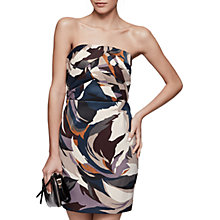 Buy Reiss Juna Printed Bustier Dress, Multi Online at johnlewis.com