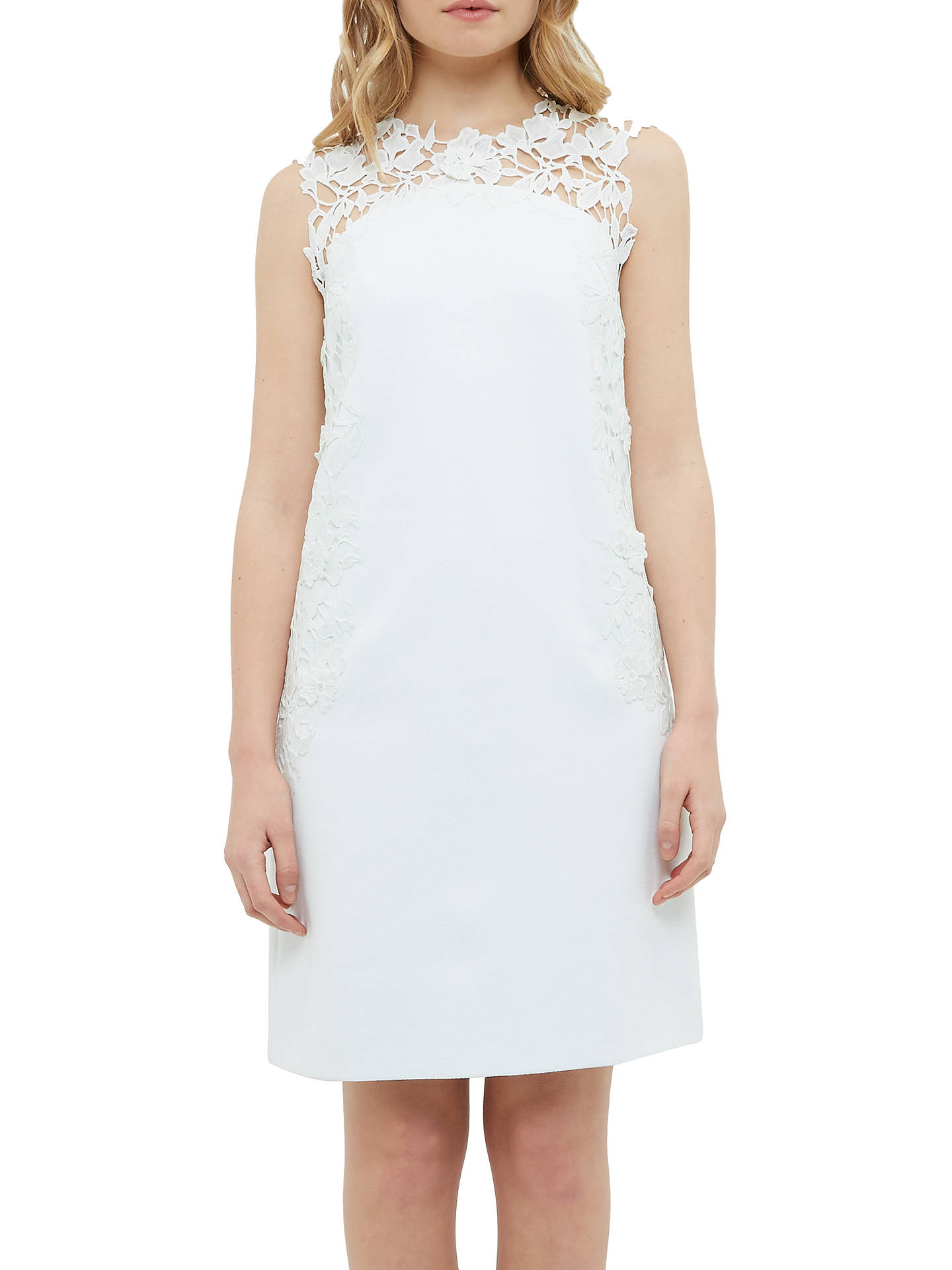 385455a03 Ted Baker Tie The Knot Andreti Applique Lace Detail Tunic Dress ...