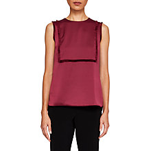 Buy Ted Baker Jadea Fringe Detail Sleeveless Top Online at johnlewis.com