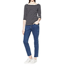 Buy French Connection Eso Tim Tim Stripe Top Online at johnlewis.com