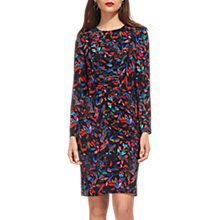 Buy Whistles Maria Mari Print Silk Blend Bodycon Dress, Multi Online at johnlewis.com
