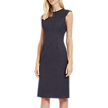 Buy Jaeger Structured Tailored Dress, Navy/Ivory Online at johnlewis.com