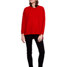 Buy Compañía Fantástica Heavy Knit Jumper, Red Online at johnlewis.com