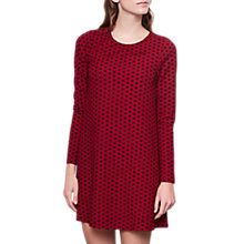 Buy Compañía Fantástica Polka Dot Dress, Red/Multi Online at johnlewis.com