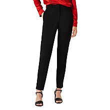 Buy Jigsaw Faille Smoking Trousers, Black Online at johnlewis.com