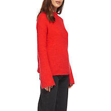 Buy Whistles Mohair Jumper, Red Online at johnlewis.com