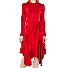 Buy Ghost Hollie Dress, Red Online at johnlewis.com