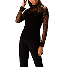 Buy Coast Ceri Tuille Beaded Knit Top Online at johnlewis.com
