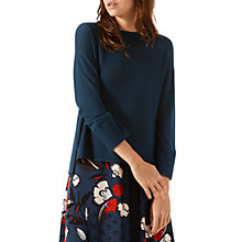 Buy Jigsaw Zip Back Jumper Online at johnlewis.com