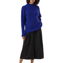 Buy Finery Henshall Mohair Jumper, Bright Blue Online at johnlewis.com