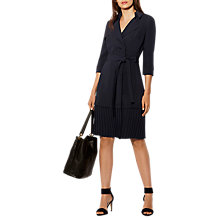Buy Karen Millen Tailored Trench Dress, Navy Online at johnlewis.com
