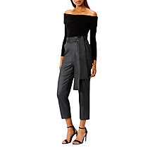 Buy Coast Thandie Trousers, Gun Metal Online at johnlewis.com