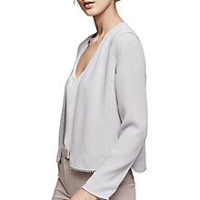 Buy Reiss Nada Cover Up Trimmed Top Online at johnlewis.com