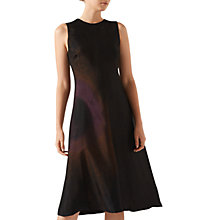 Buy Jigsaw Salena Wind Spiral Dress, Purple Rain Online at johnlewis.com