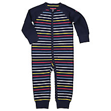 Buy Polarn O. Pyret Children's Stripe Pyjamas, Blue, 2-4 years Online at johnlewis.com