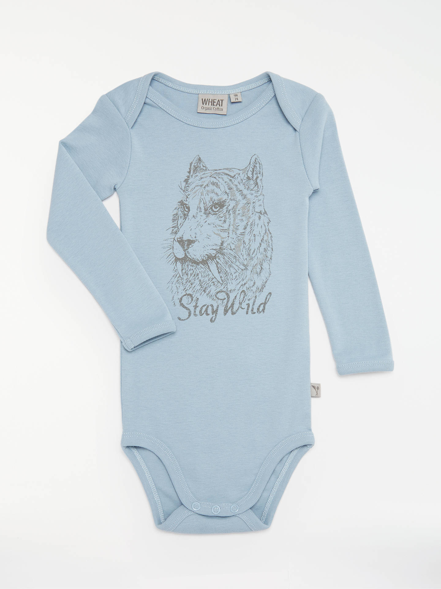 5e1d128c5bb7 Wheat Baby Tiger Long Sleeve Bodysuit