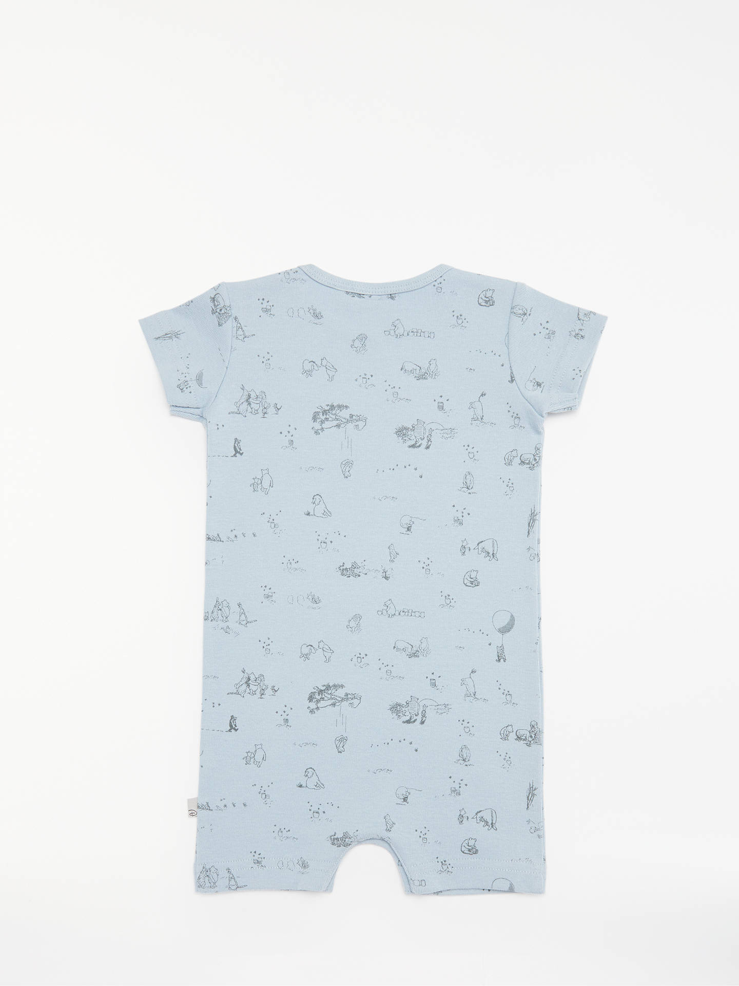 BuyWheat Baby Winnie the Pooh Romper, Sky Blue, 6 months Online at johnlewis.com