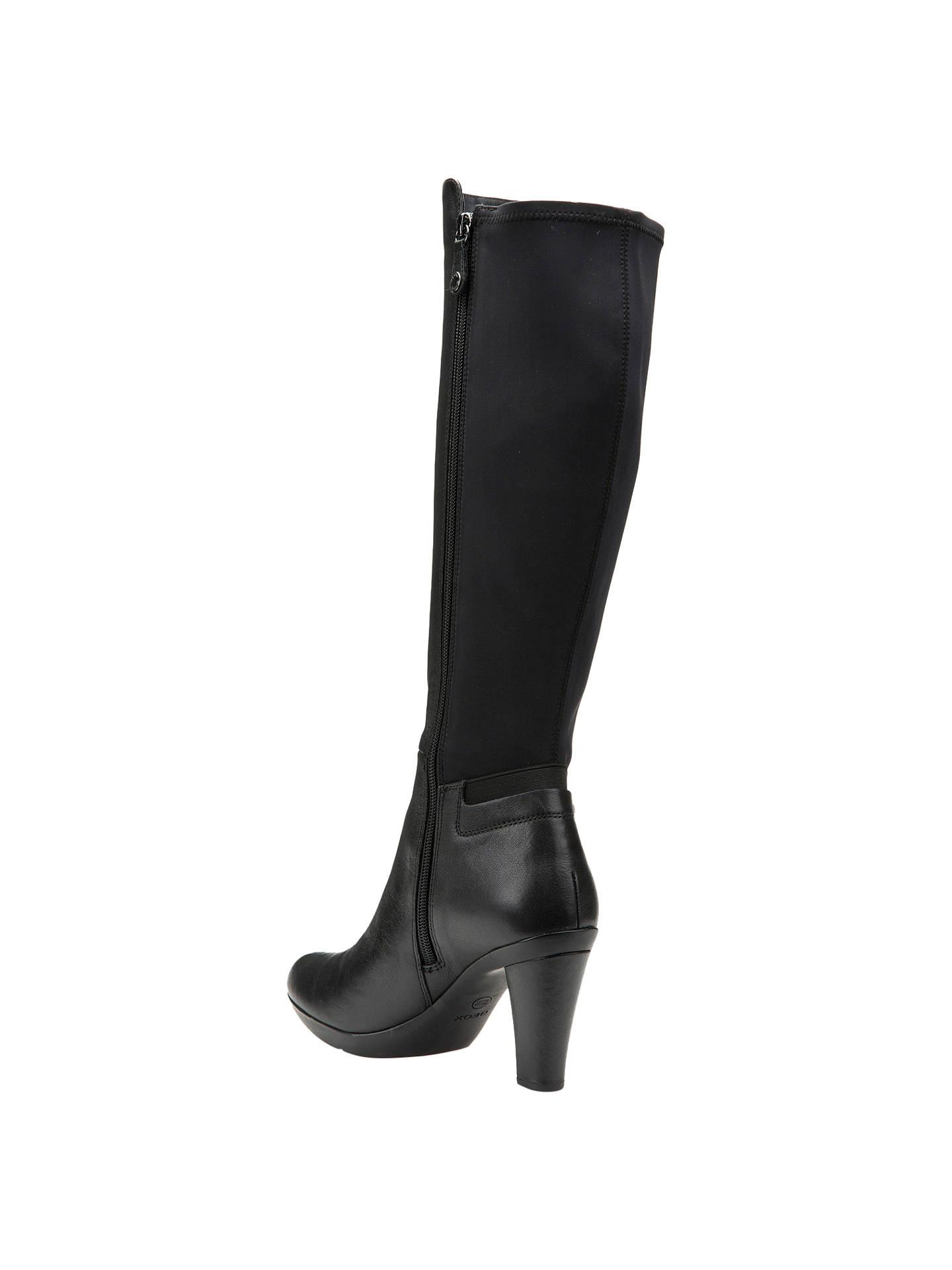 6b2ea1b3857 ... Buy Geox Inspiration Block Heeled Knee High Boots
