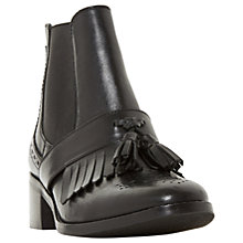 Buy Dune Pannola Block Heeled Ankle Chelsea Boots Online at johnlewis.com