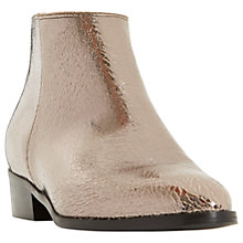Buy Dune Peiro Block Heeled Ankle Boots Online at johnlewis.com