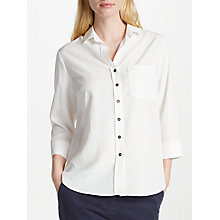 Buy Collection WEEKEND by John Lewis Florence Shirt, White Online at johnlewis.com