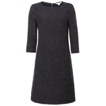Buy White Stuff Glitter Stripe Jersey Dress, Arran Teal Stripe Online at johnlewis.com