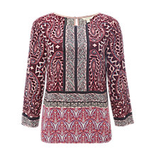Buy White Stuff Lillyanna Paisley Top, Multi Online at johnlewis.com