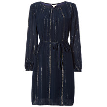 Buy White Stuff Midnight Shimmer Dress, Arran Teal Stripe Online at johnlewis.com