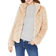 Buy Oasis Mimi Faux Fur Jacket Online at johnlewis.com