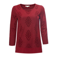 Buy White Stuff Festive Flock Jersey T-Shirt Online at johnlewis.com