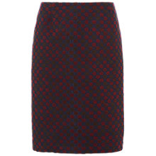 Buy White Stuff Jemima Floral Jacquard Skirt, Navy Online at johnlewis.com