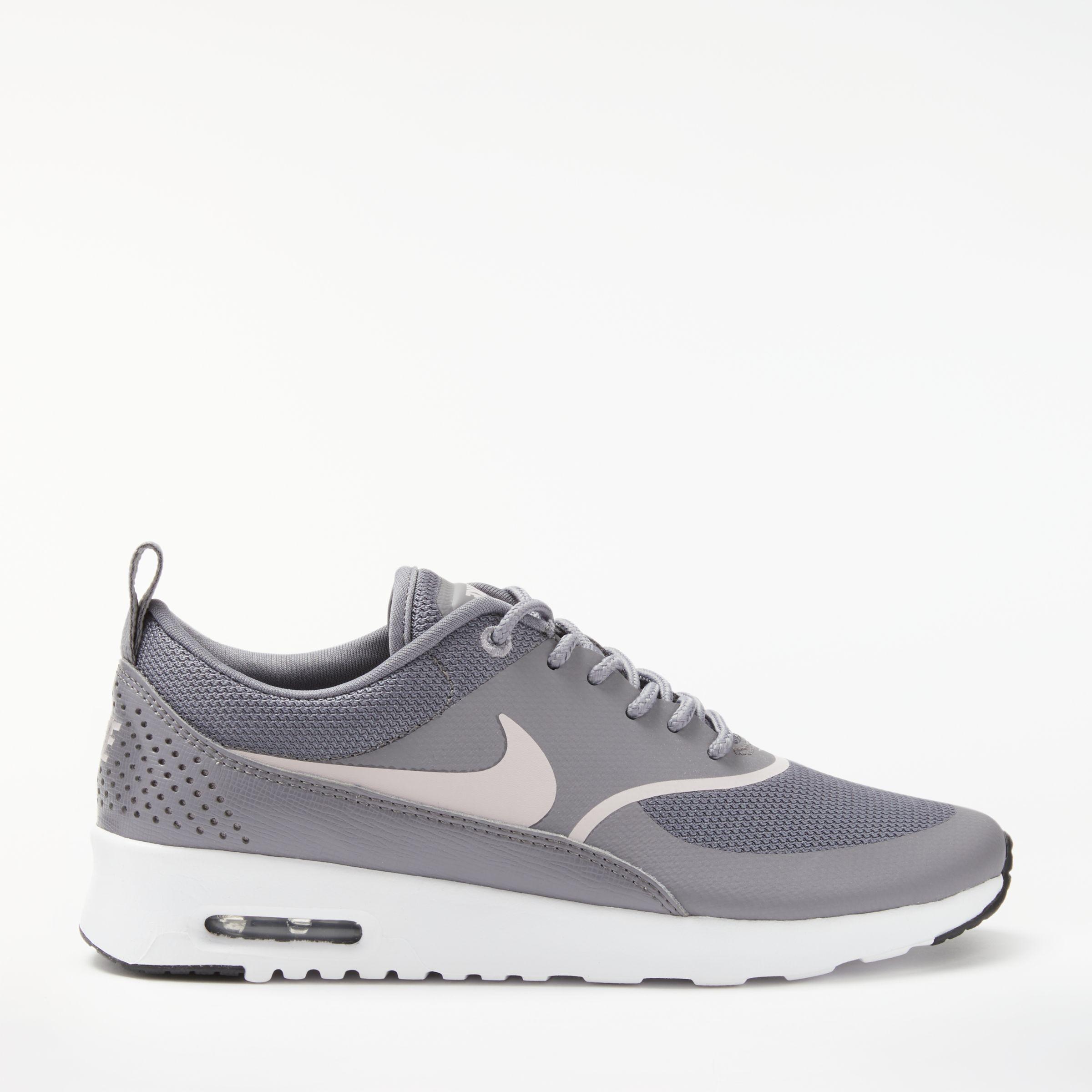 nike thea womens grey