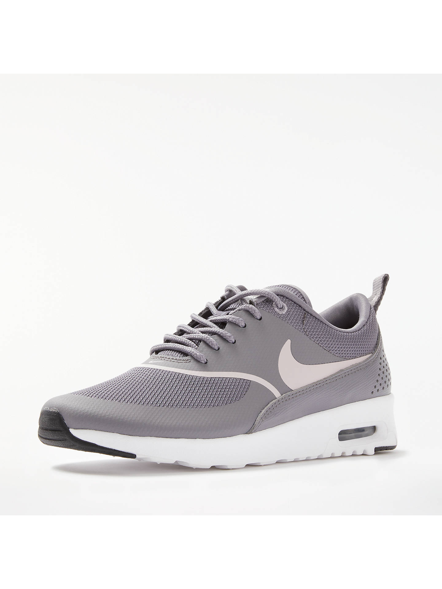 on sale e9614 bdb24 ... Buy Nike Air Max Thea Women s Trainers, Grey, 4 Online at johnlewis. ...