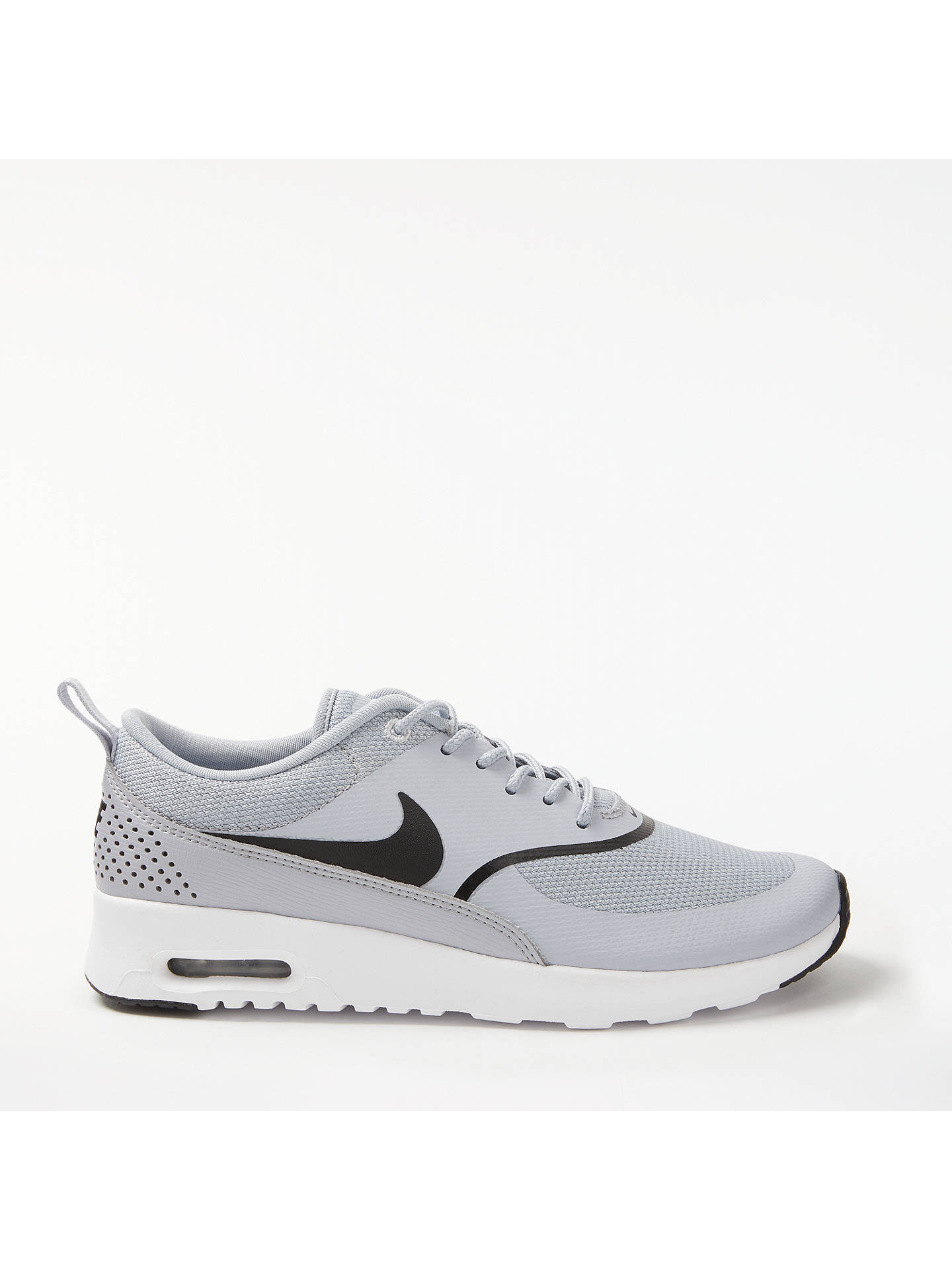 wholesale dealer 5edf6 444d7 Buy Nike Air Max Thea Women s Trainers, Grey Black, 4 Online at johnlewis  ...