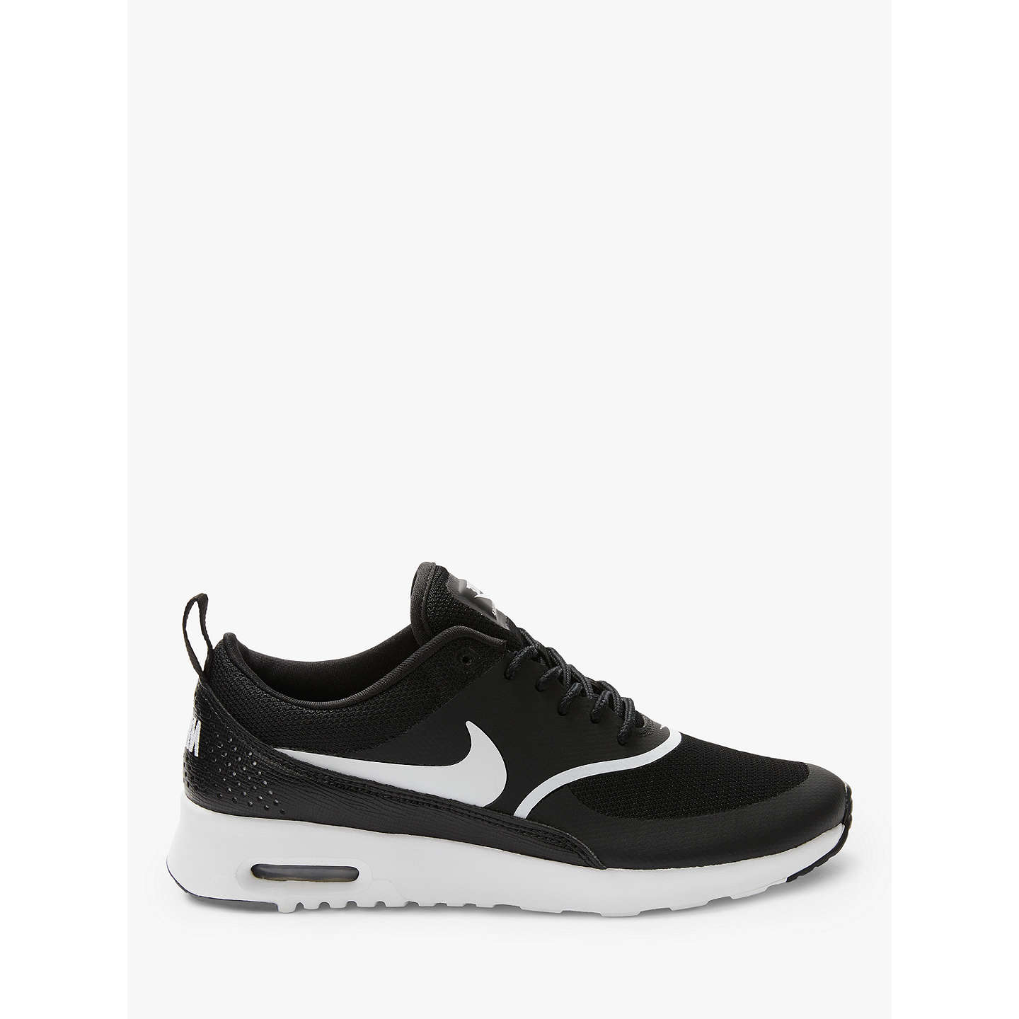 nike air max thea women 39 s trainers at john lewis. Black Bedroom Furniture Sets. Home Design Ideas