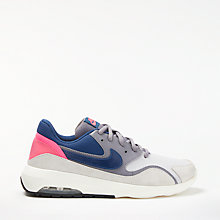 Buy Nike Air Max Nostalgic Women's Trainers, Grey/Blue Online at johnlewis.com