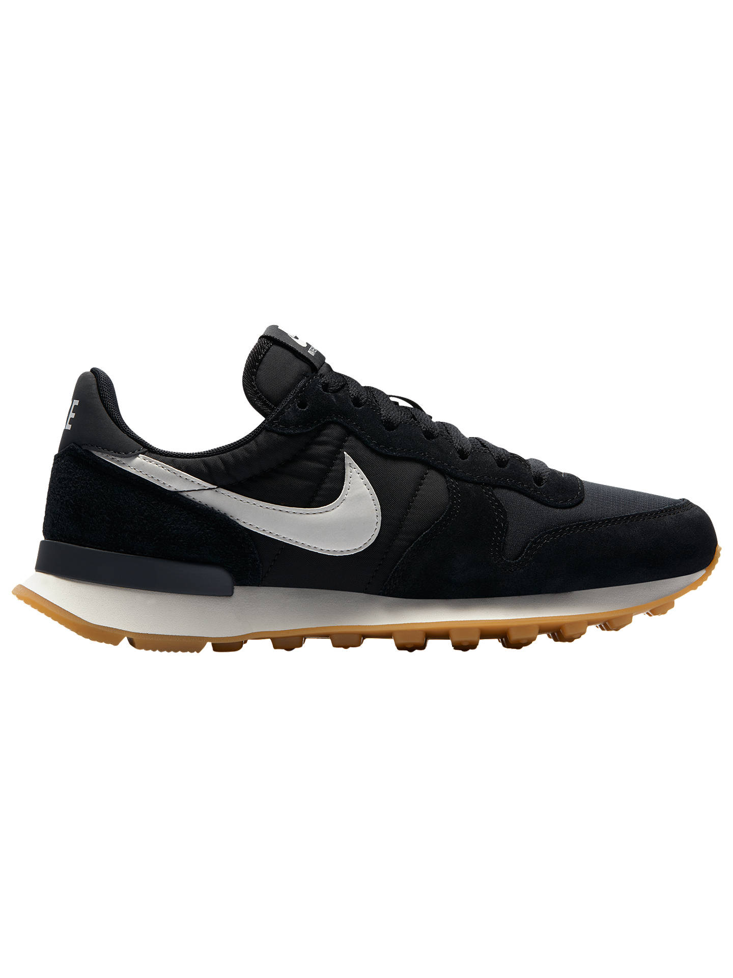 wholesale dealer e7365 01837 Buy Nike Internationalist Women s Trainers, Black White, 4 Online at  johnlewis. ...
