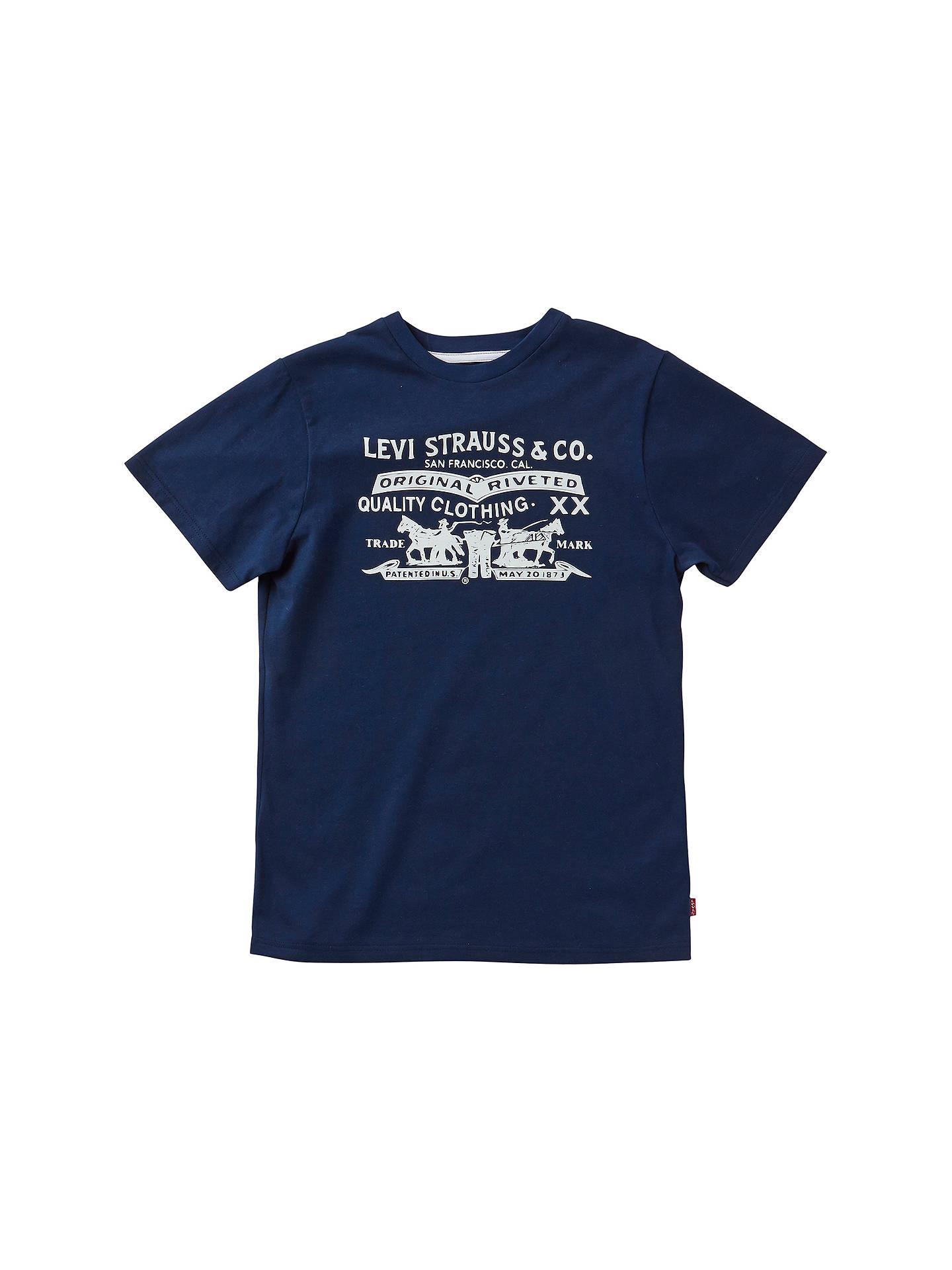 a227fa35a Levi s Boys  Horse Print T-Shirt