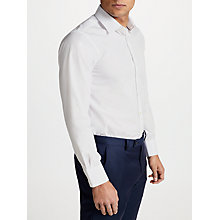 Buy Smyth & Gibson Non Iron Poplin Slim Fit Shirt, White Online at johnlewis.com