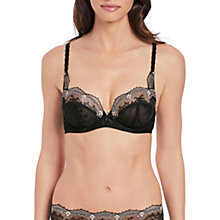 Buy Wacoal Irresistible Balcony Bra, Black Online at johnlewis.com