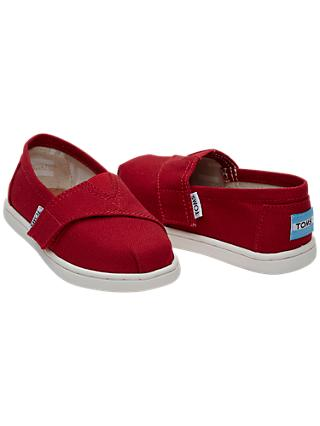 TOMS Children's Alpagartas Casual Shoes