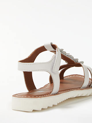 Buy John Lewis & Partners Children's Isla Sandals, White, 26 Online at johnlewis.com