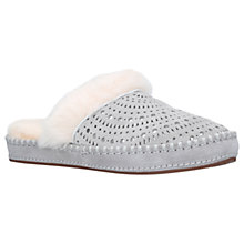 Buy UGG Aira Mule Slippers, Grey Suede Online at johnlewis.com