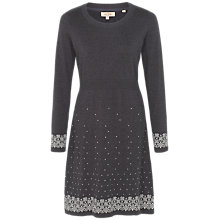 Buy Fat Face Polly Pattern Border Knitted Dress Online at johnlewis.com