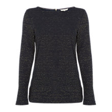 Buy White Stuff Ottoman Glitter Jersey Top Online at johnlewis.com
