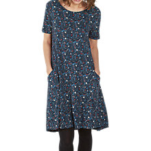 Buy Fat Face Simone Evergreen Dress, Navy/Multi Online at johnlewis.com