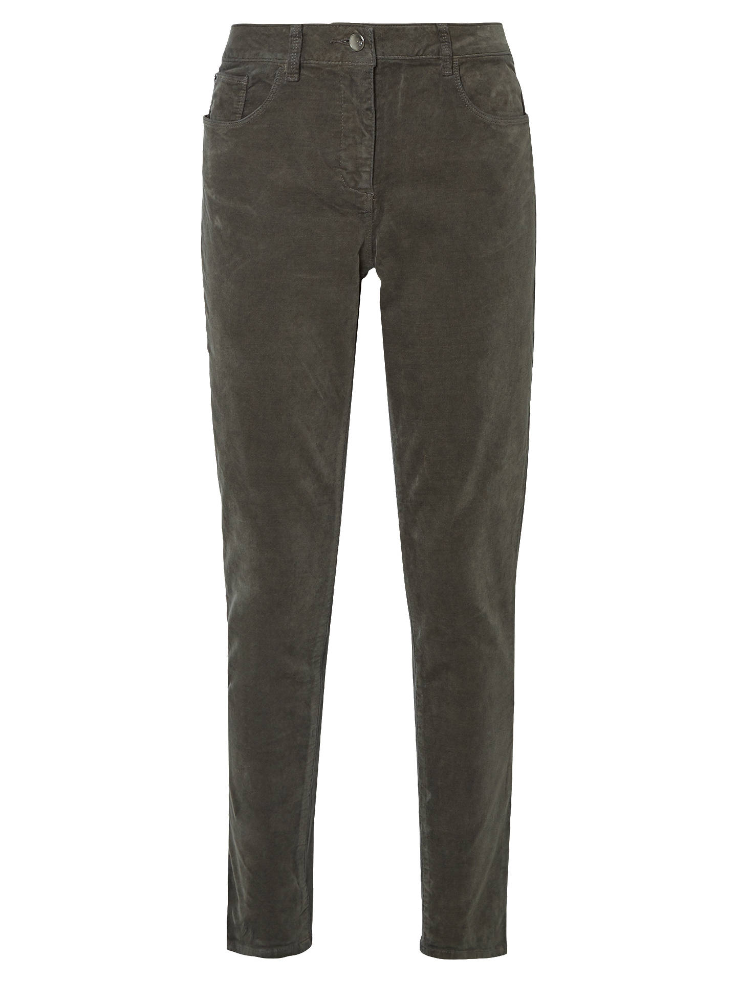 BuyWhite Stuff Willow Velvet Skinny Trousers, Brown, 6 Online at johnlewis.com
